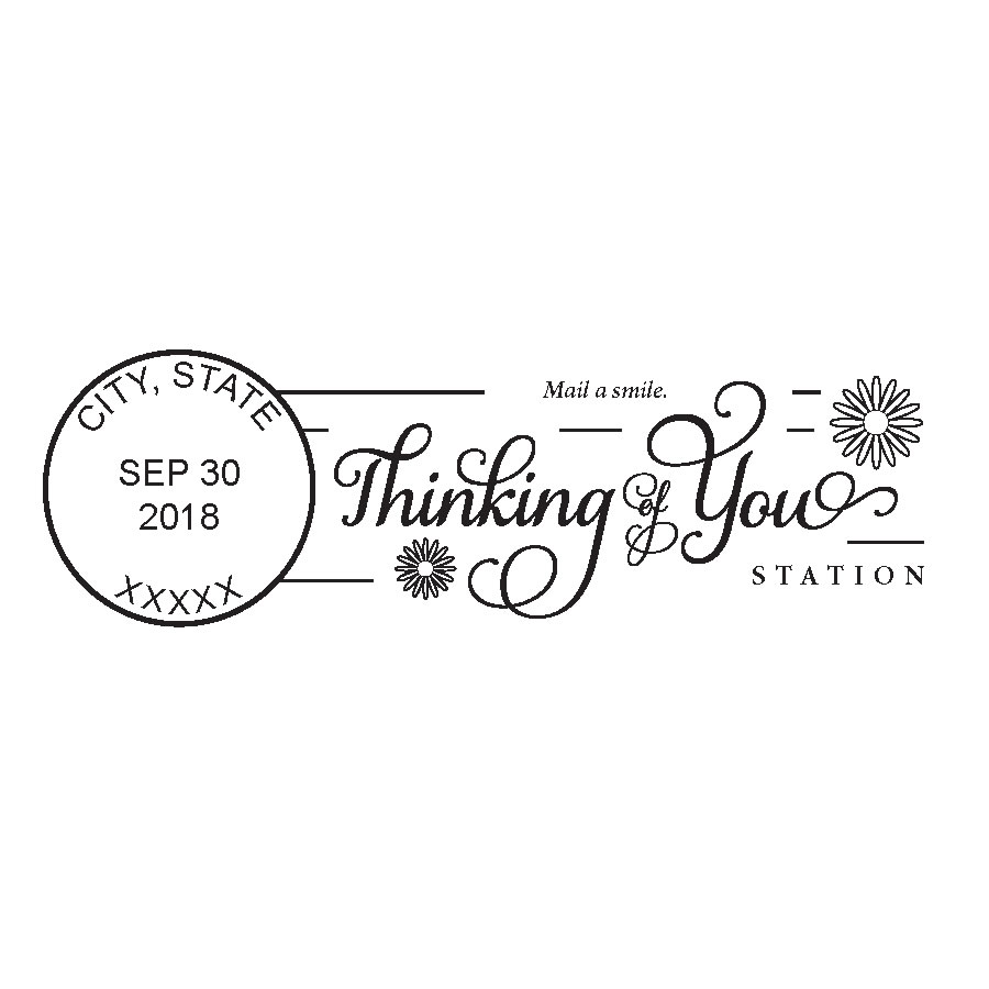 USPS announces Thinking of You Week postmark!